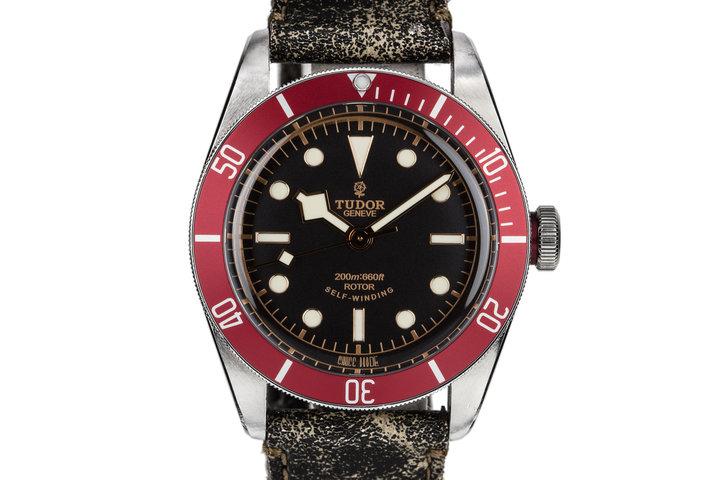 2014 Tudor Black Bay 79220 Red Bezel with Box and papers photo