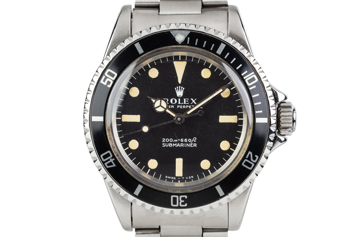 1967 Rolex Submariner 5513 Meters First Dial photo, #0