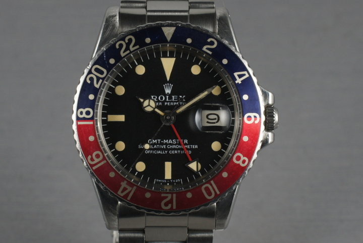 Rolex GMT 1675 with creamy  Mark 1 Dial photo