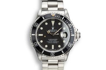 1980 Rolex Submariner 16800 Matte Dial photo