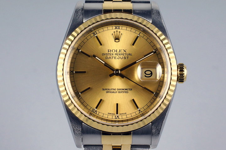 2002 Rolex Two Tone DateJust 16233 photo