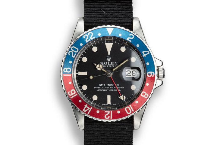 "1968 Rolex GMT-Master 1675 ""Pepsi"" with Mark 1 Matte Dial photo"