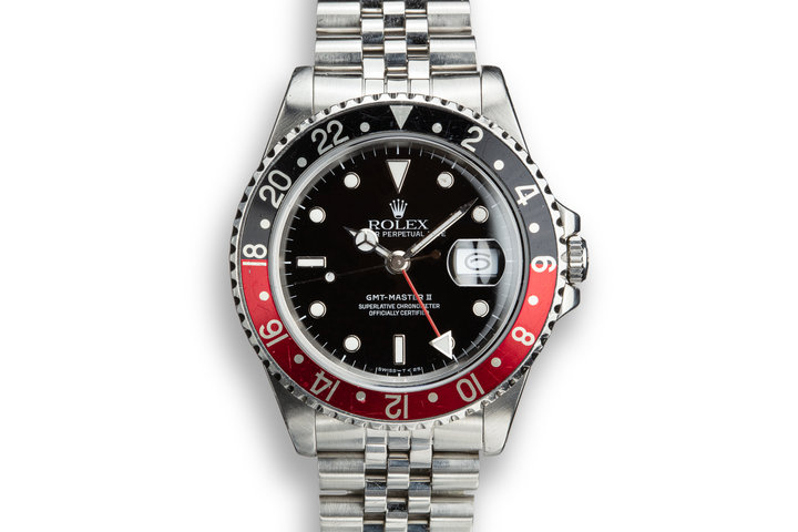 "1989 Rolex GMT-Master II ""Coke"" with Box and Papers photo"