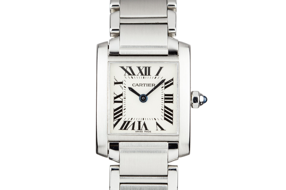 Cartier Ladies Quartz Tank W51008Q3 with Box photo, #0