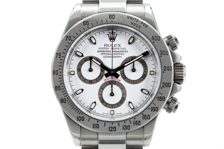 2005 Rolex Daytona 116520 White Dial with Box and Papers photo