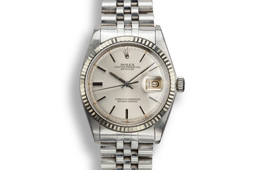 1974 Rolex DateJust 1603 with Silver Sigma Dial photo