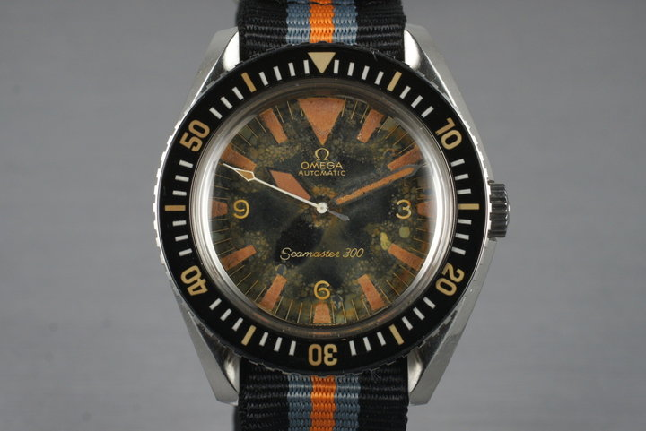 1967 Omega Seamaster 300 165.024 W10 Military Spec photo