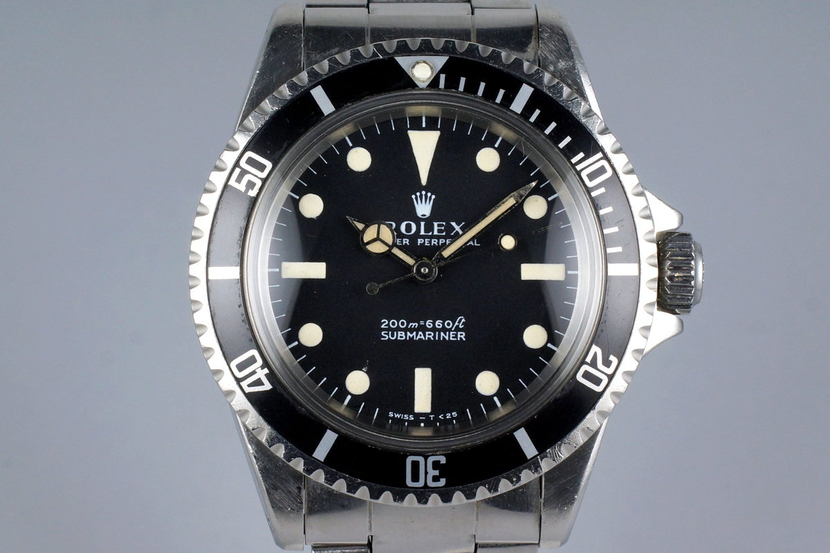 1968 Rolex Submariner 5513 Meters First photo, #0