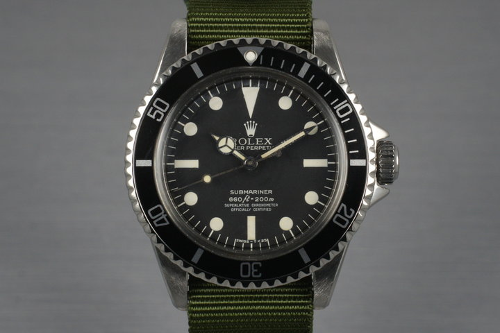 1962 Rolex Submariner 5512 PCG Mark III Maxi Dial photo