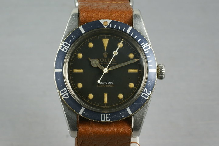 Rolex Submariner Ref: 6536-1 photo