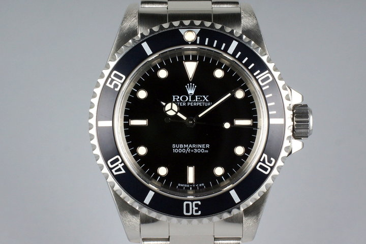 1997 Rolex Submariner 14060 with Box and Papers photo