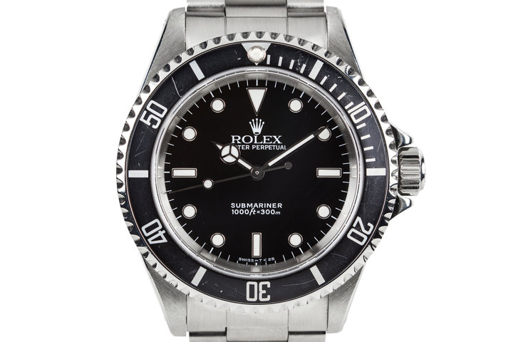1991 Rolex Submariner 14060 photo