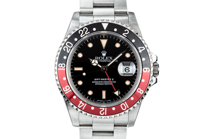 """1989 Rolex GMT-Master II 16710 """"Coke"""" with Hang Tags photo"""