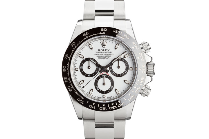 2020 Rolex Daytona 116500LN White Dial with Box and Card photo