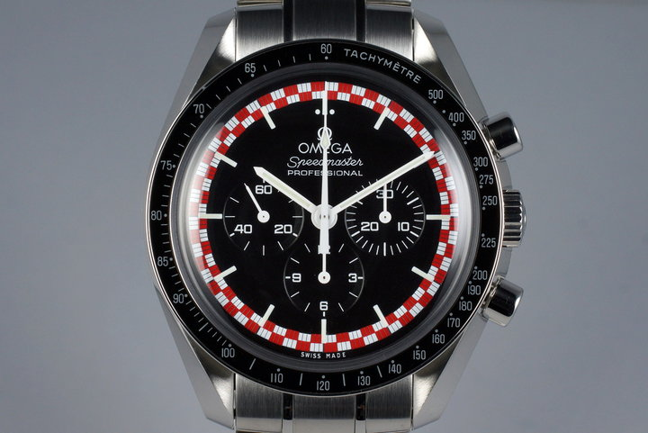 2013 Omega Speedmaster 311.30.42.30.01.004 Racing 'Tin Tin' Dial with Card photo