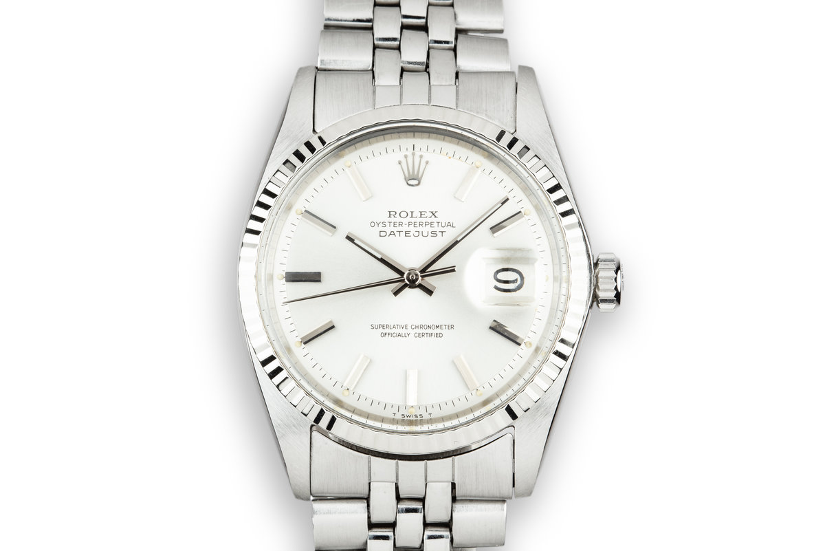 1968 Rolex DateJust 1601 Silver Dial photo, #0