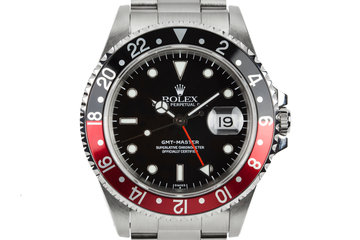 "1995 Rolex GMT-Master 16710 with ""Coke"" Bezel Insert photo"