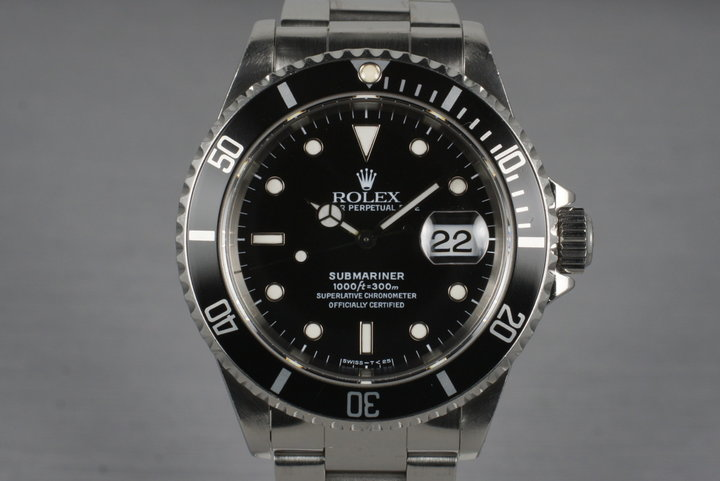 1995 Rolex Submariner 16610 photo