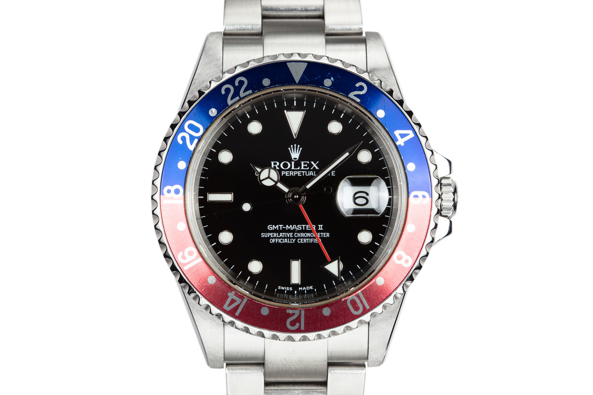 "2004 Rolex GMT-Master II 16710 ""Pepsi"" with Box and Papers photo, #0"