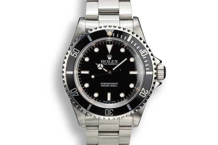 1991 Rolex Submariner 14060 with Box and Papers photo