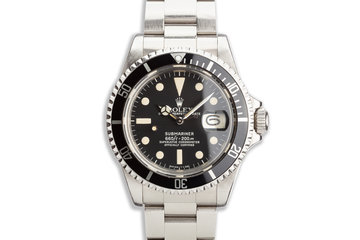 1979 Vintage Rolex Submariner 1680 photo