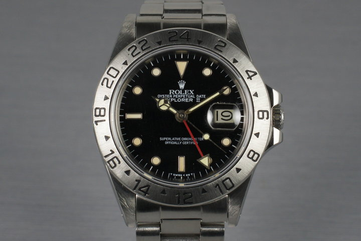 1984 Rolex Explorer II 16550 with Box and Papers photo