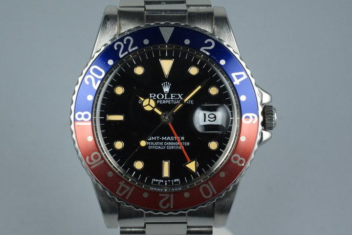 1985 Rolex GMT Master 16750 photo