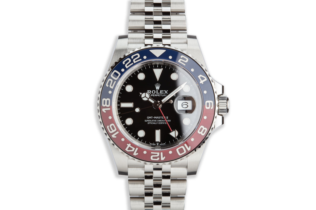 2019 Rolex GMT-Master II 126710BLRO with Full Set photo, #0