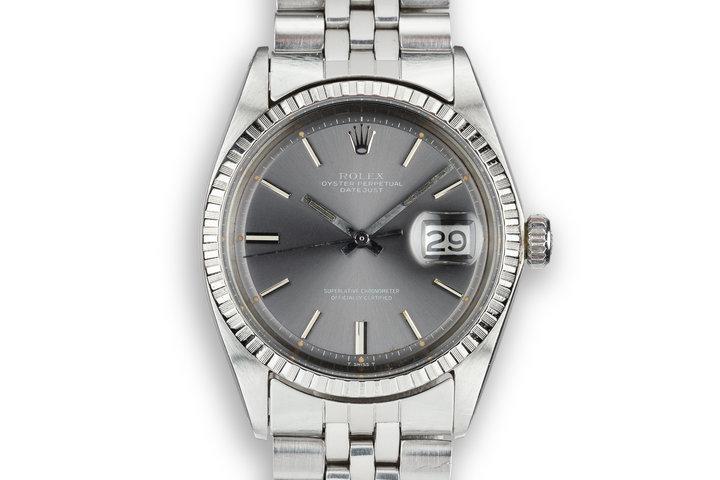 1972 Rolex DateJust 1603 Grey Dial photo