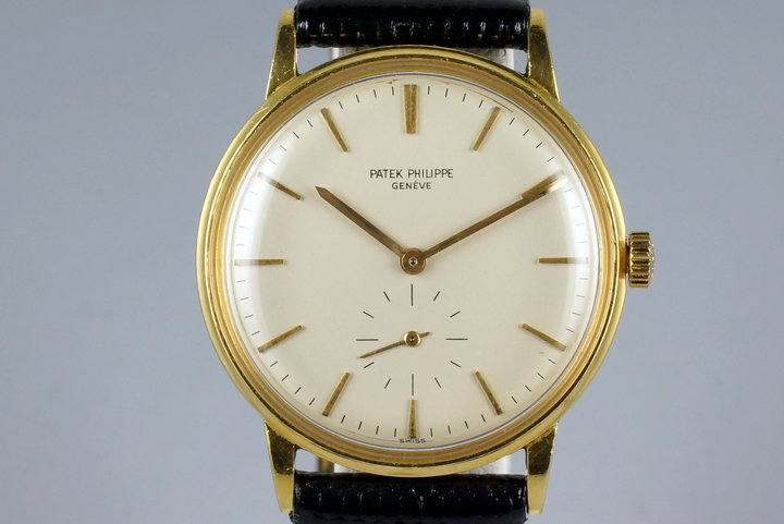 Vintage YG Patek Philippe Calatrava 3425 Automatic photo