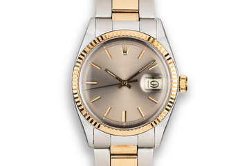1971 Rolex Two-Tone DateJust 1601 Brown Dial photo