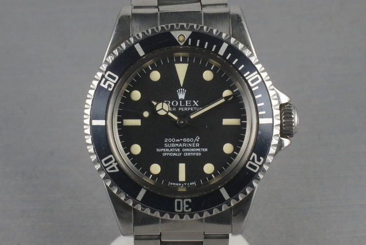Rolex Submariner 5512 Meters First photo