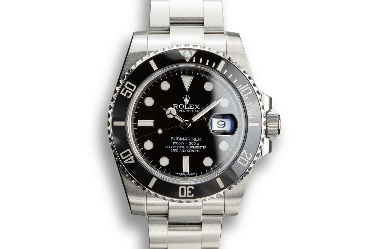 2011 Rolex Submariner 116610LN with Box and Papers photo, #0
