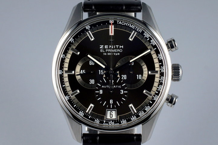 2015 Zenith El Primero 36,000 VPH 03.2040.400 with Box and Papers photo