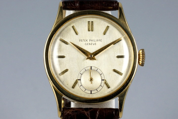 Vintage 18K YG Patek Philippe 96 photo