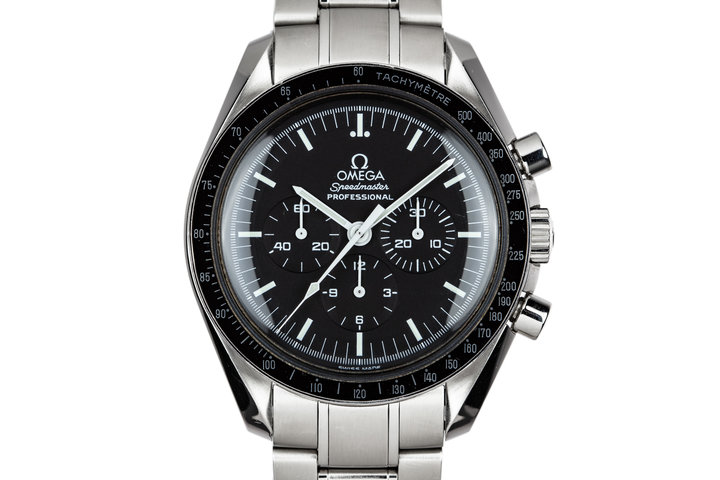 2004 Omega Speedmaster Professional 3570.50.00 with Box and Papers photo