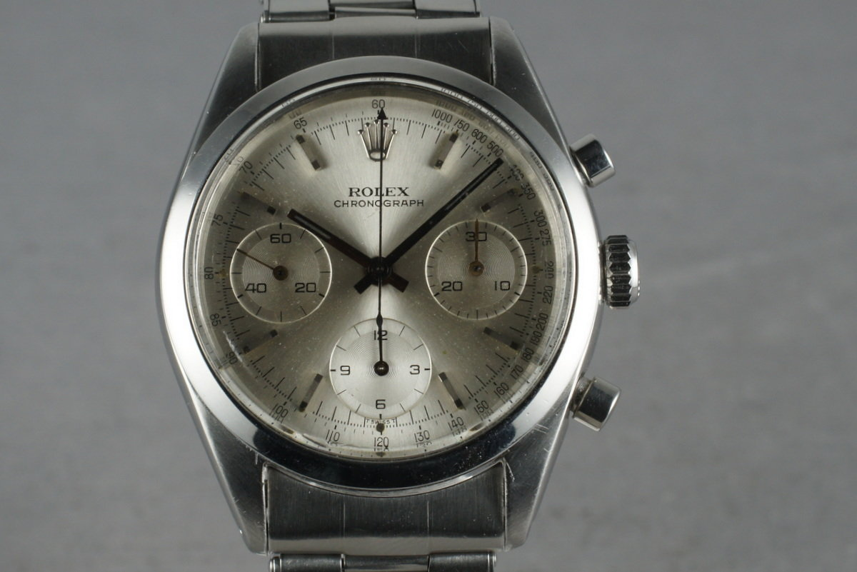 1965 Rolex Pre-Daytona 6238 with Silver Dial photo, #0