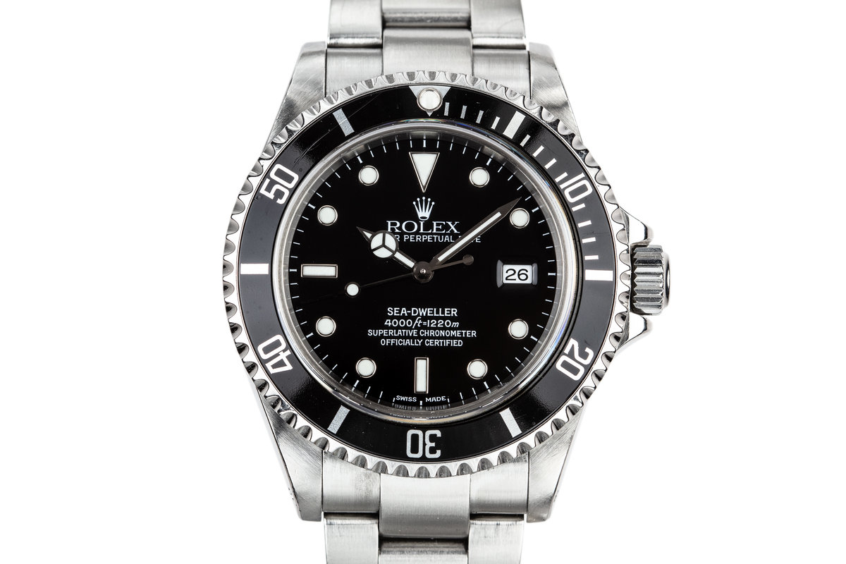1999 Rolex Sea-Dweller 16600 photo, #0