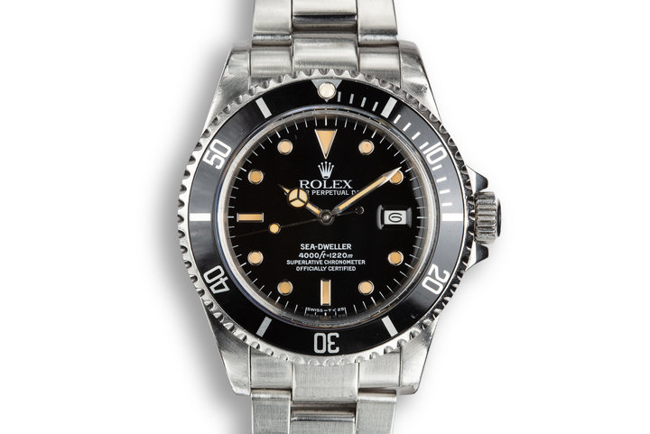 1984 Rolex Sea-Dweller 16660 Glossy Dial photo