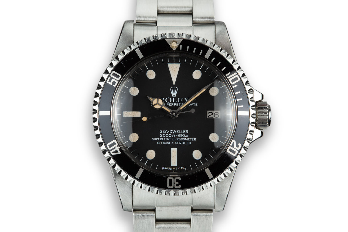 1983 Rolex Sea-Dweller 1665 photo, #0