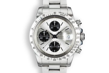 "1993 Tudor Chronograph ""Big Block"" 79180 Silver Dial photo"