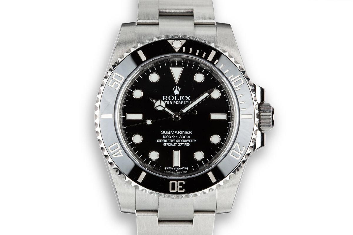 Rolex Ceramic Submariner 114060 with Box photo, #0