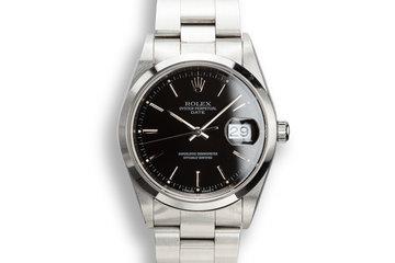 1997 Rolex Date 15200 Black Dial photo