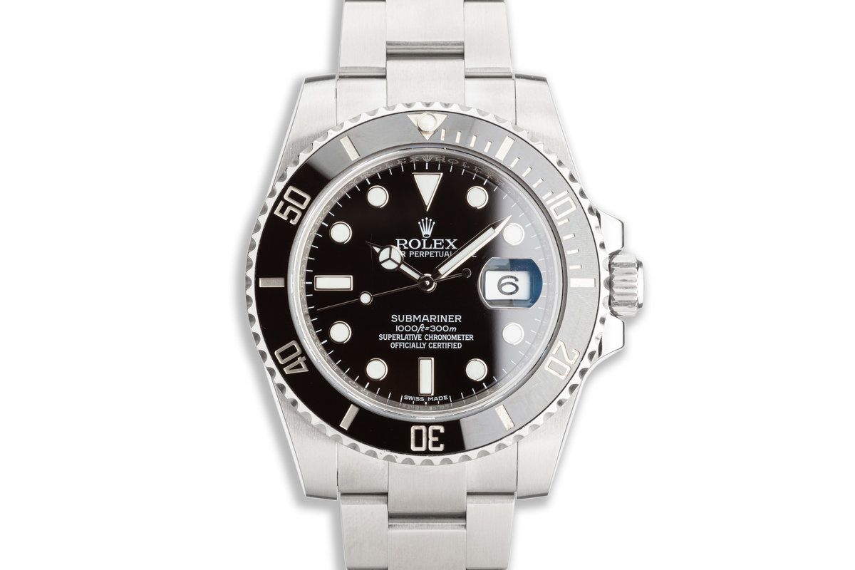 Rolex Submariner 116610LN with Box & Booklets photo, #0