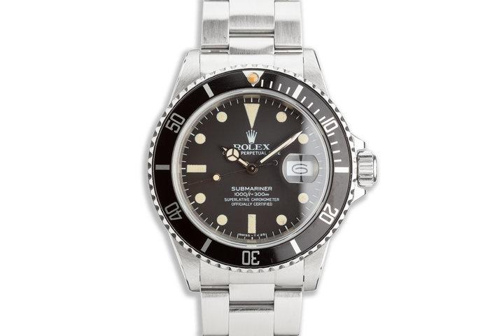 1981 Rolex Submariner 16800 photo