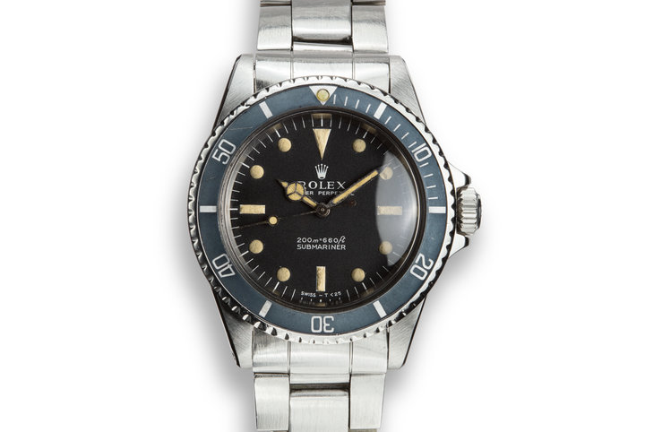 1966 Rolex Submariner 5513 Meters First Dial photo