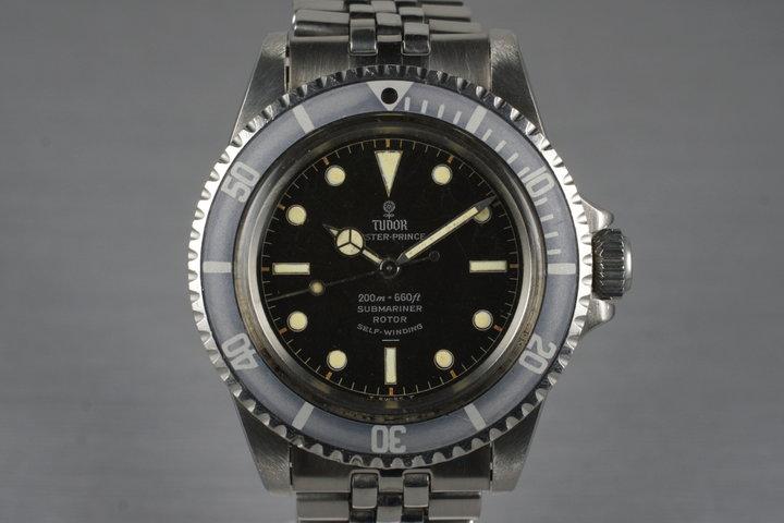 1964 Tudor Submariner 7928 Chapter Ring Underline Dial photo