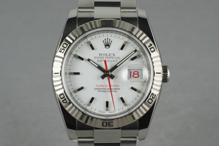 2005 Rolex Datejust Turn-O-Graph 116264 photo