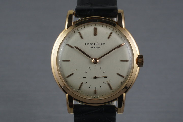 Vintage 18K Rose Gold Patek Philippe 2484 photo