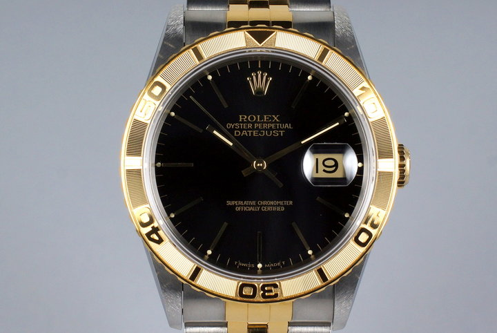 1994 Rolex Two Tone DateJust 16263 Thunderbird with Box and Papers photo